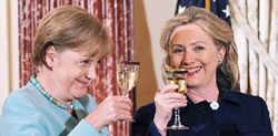 angela and hillary