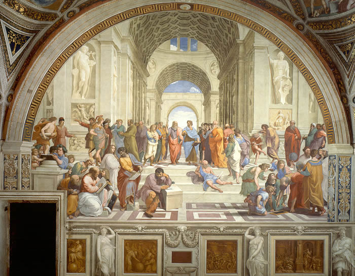 rapael school of athens